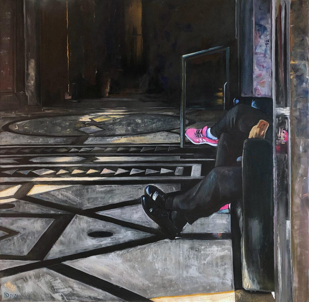 Dmitrenko Nikolay, artist, painting, Nikartacademy, 尼古拉-德米特连科 油画家
